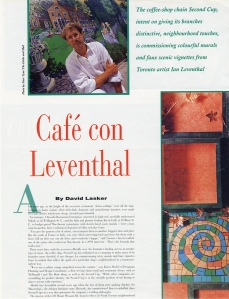Cafe Con Leventhal